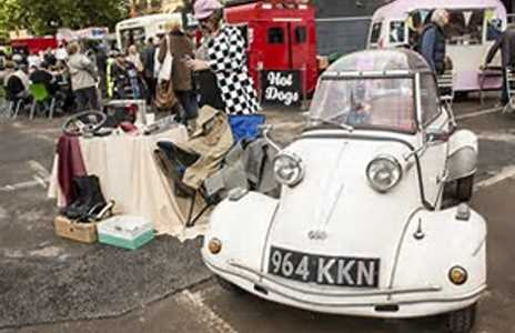 Unusual car boot