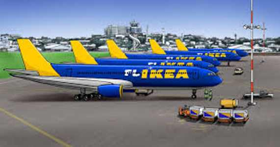 An April Fool - Ikea Budget Airline