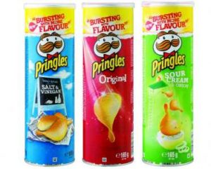PRINGLES FOR BREAKFAST WITH OR WITHOUT MILK