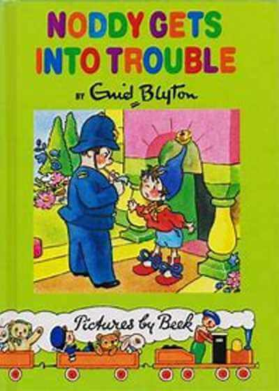 Noddy Gets into Trouble Book 8 - JEANNIEJEANNIEJEANNIE.CO.UK